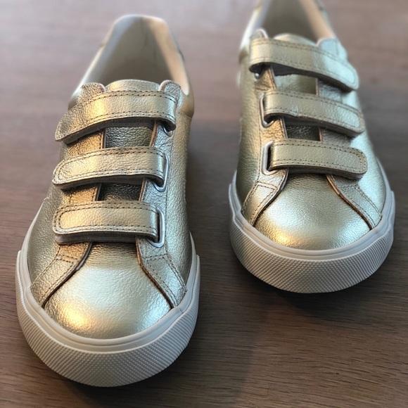 5edb9a22848915 Veja 3 Lock Leather Gold Sneakers Size US 10. M_5b6d37fa9e6b5b902eb90ebe